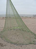 Кастинговая сеть из капроновой нити с большим кольцом диаметром 3 м (парашют, намет)