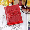 Женский кошелек Alligator Red