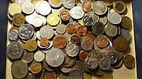 Монеты 1кг Много экзотики