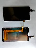 Дисплей  (экран) Lenovo P780 с сенсором черный original.