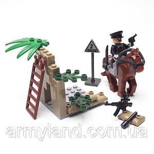 Военные фигурки,Кавалерия военный конструктор, аналог лего, BrickArms