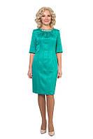 Женское платье из жаккарда, фото 1