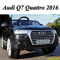 Детский электромобиль Audi Q7 Quattro 2016: 2.4G, EVA, 90W, USB - ЧЕРНЫЙ (6585310974)- купить оптом , фото 1