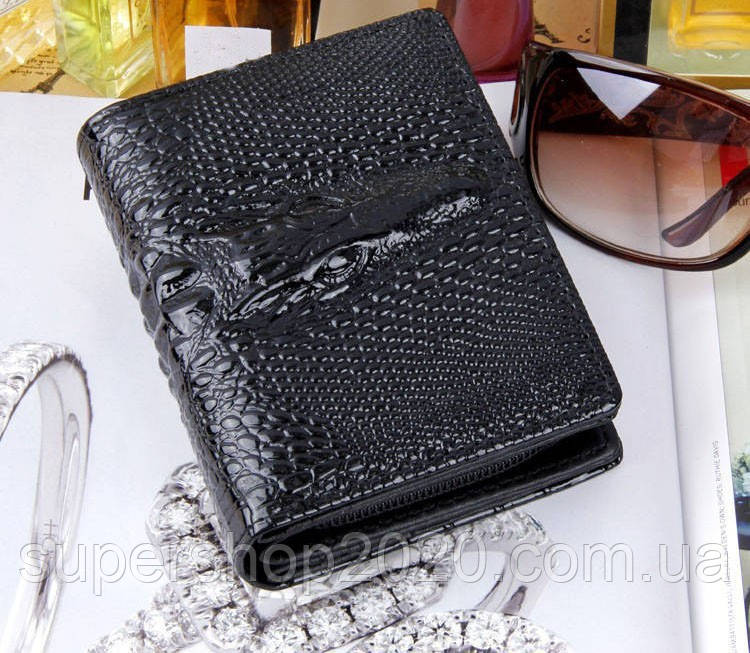 Жіночий гаманець Alligator Black
