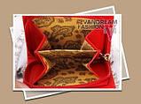 Жіночий гаманець Alligator Black, фото 4