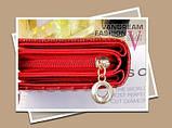 Жіночий гаманець Alligator Black, фото 5