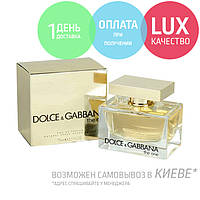 Dolce & Gabbana D&G The One. Eau De Parfum 75 ml / Женская парфюмированная вода Дольче Габбана Зе Ван 75 мл