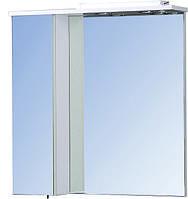 """Зеркальный настенный шкаф в ванную """"Тетрис"""" 60х70"""