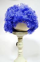 """Карнавальный парик """"Клоун"""" фиолетовый кудрявый"""