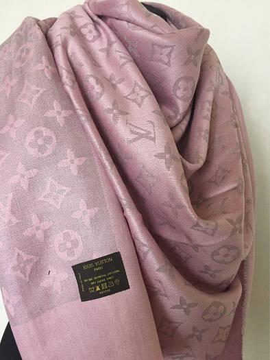 Шаль Louis Vuitton с люрексом (Луи Витон) розовый