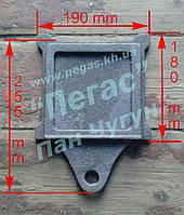 Задвижка печная чугунное литье (125х125 мм)