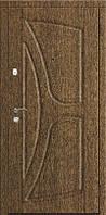 Двері броньовані Стандарт Виноріт, ручка на розетці+коробка с чвертю
