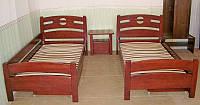 """Детская кровать """"Сакура"""". Массив - сосна, ольха, дуб."""