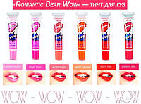 "Тинт для губ ""Romantic Bear WOW"" Cherry Red"