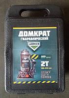 Домкрат 2т гидравл.,пластик H 180 /356 <ARMER>