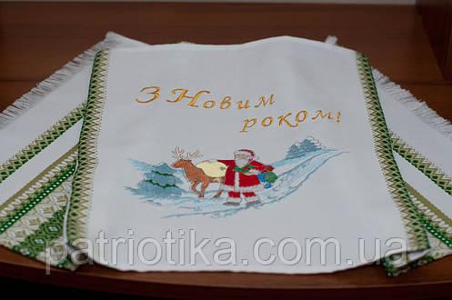 Новогодний рушник | Новорічний рушник 002, фото 2