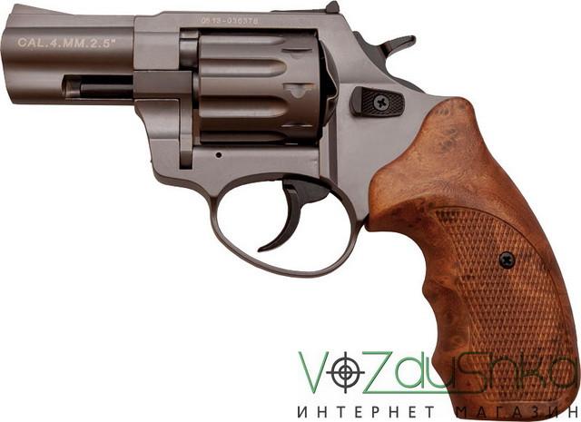 Stalker Titanium 2,5 wood револьвер под патрон флобера