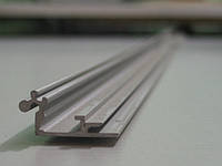 Профиль алюминиевый «база» (клик-система 32мм., анодированный, L – 3000мм.)