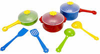 Игровой набор детской посуды Ромашка 10 элементов