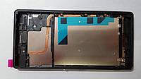 Дисплей  (экран) Sony Xperia Z3 Dual, D6633 с черной рамкой original.