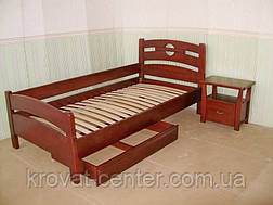 """Кровать для гостиниц """"Сакура"""". Массив - сосна, ольха, береза, дуб., фото 3"""