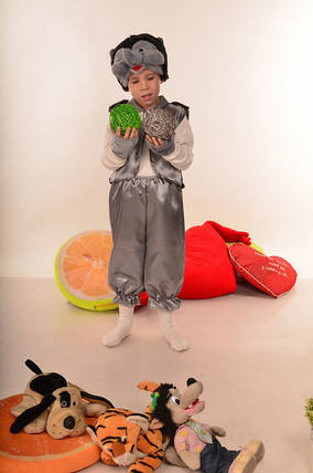Детский новогодний костюм Ежик , фото 2