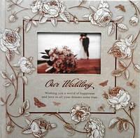 Альбом. Фотоальбом свадебный .Lovestory №2 200ф. 10х15см.