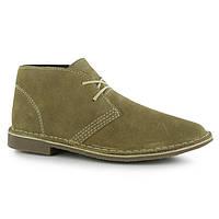 Стильные замшевые ботинки на мальчика, размер 35, 5