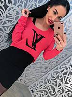 Костюм платье+кофта LV