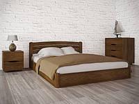 Кровать Sofi Lux с подьемной рамой (софия люкс, ТМ Олимп) из натурального дерева