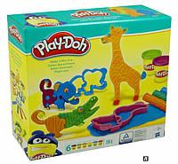 """Пластилин Play-Doh """"Веселое сафари"""" B1168, фото 1"""
