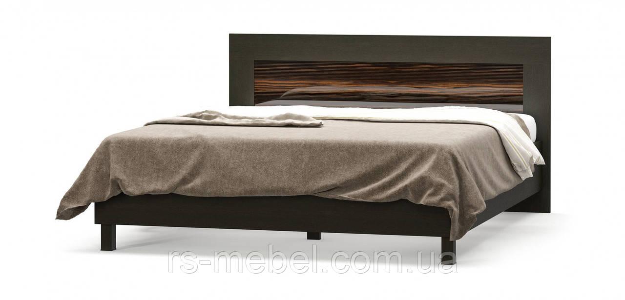 """Ліжко 160 """"Єва Макасар"""" (Мебель-Сервіс)"""