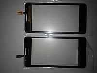 Сенсорное  стекло  Huawei G510, G525, U8951D черное original.