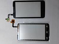 Сенсорное  стекло  Lenovo A316 черное high copy.