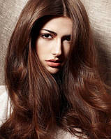 Волосы на заколках 70 г 50 см, цвет каштановый (№ 4)