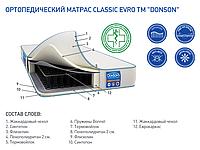 (БЕСПЛАТНАЯ ДОСТАВКА) Ортопедический матрас «Classic Evro» 180х200