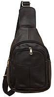 Стильный рюкзак кожаный 216 black