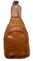 Стильный рюкзак кожаный 216 brown