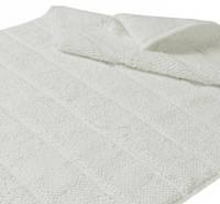 Хлопковый коврик для ванной с антибактериальной защитой HANIM WHITE 80x120