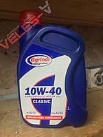 Масло моторне бензин. п/синтетика 10-40 SG/CD 1л Агрінол