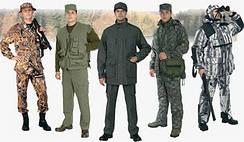 Рыбацкая одежда, охотничье костюмы, термобелье,обувь