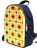 Джинсовый рюкзак Тарасовка, фото 2