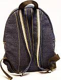 Джинсовый рюкзак Тарасовка, фото 3