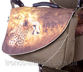 Коляска 1 в 1 (без прогулочного блока) tako roxie  гепард коричневый, фото 2