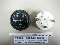 Тахометр МАЗ (передаточн. число к/вал-генератор 2,34) (пр-во Автоприбор), 2521.3813010