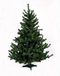 Штучна новорічна ялина (ПВХ) зелена 0.75 м