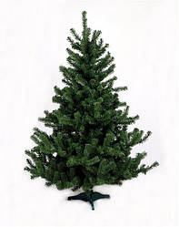 Ялинка штучна новорічна (ПВХ) зелена 1.5 м
