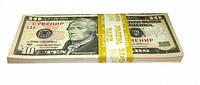 Сувенирные деньги 10 долларов.Пачка 80 шт
