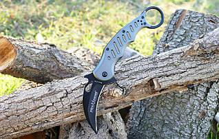 Складной нож керамбит FOX Karambit с черным клинком