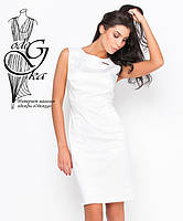 Платья летние женские прямого покроя без рукавов Елена